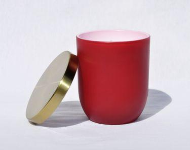 Maulbeere Duftkerze im Glas Kerze Premium Deckel in gebürstetem Gold Dauer ca. 25 Std. [3]