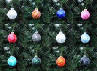 Thüringer Glas Eislack Christbaumkugeln Orange Rost Weihnachtskugeln 4 5 6 7 8 cm 7