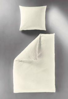 Bierbaum hochwertige Uni Fein Biber Bettwäsche einfarbig Leinen 100% Baumwolle [3]