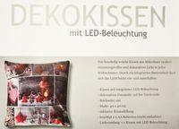 Kissen 40x40cm LED Beleuchtung Weihnachten Dekokissen Wintermotive Fotokissen 6