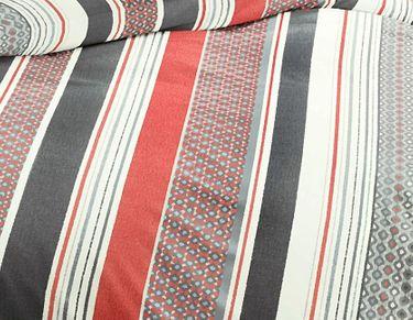 Bierbaum Single Jersey Bettwäsche 3 tlg. 200x200cm Koralle Eierschale Grau Silber [3]
