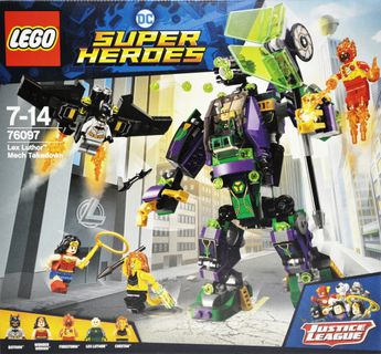 LEGO 76097 Super Heroes: Lex Luthor Mech Takedown [1]