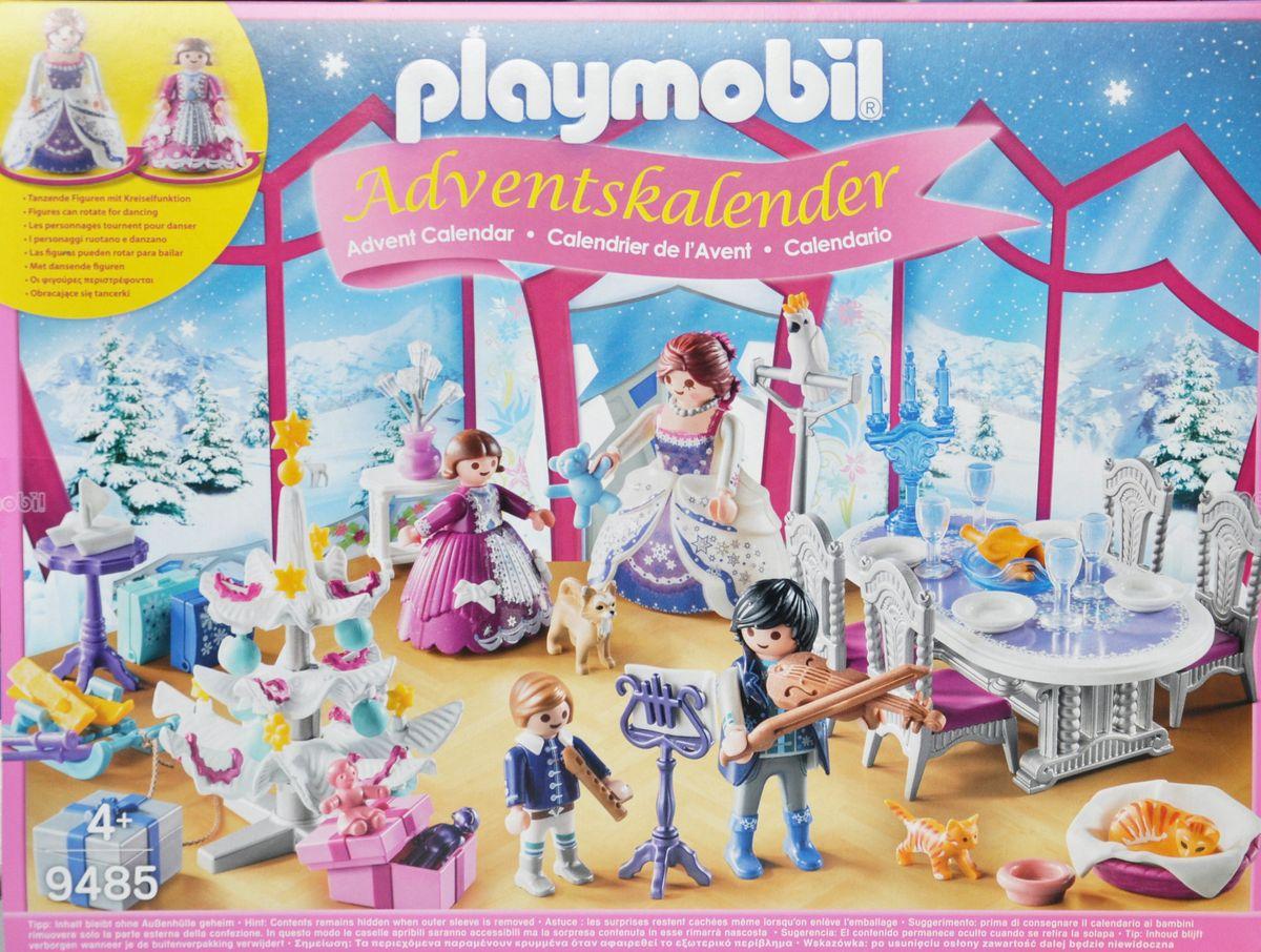 Playmobil Weihnachtsbaum.Playmobil 9485 Adventskalender Weihnachtsball Im Kristallsaal Kalender