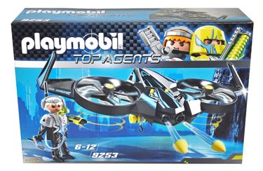 Playmobil 9253 Top Agents Mega Drone mit Schussfunktion [1]