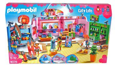 Playmobil 9078 City Life Einkaufspassage Laden Shopping [1]