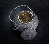 Teekanne aus Gusseisen inkl. Teesieb 1,5 l Asia Style Schwarz 3