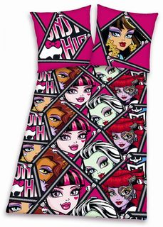 HERDING MONSTER HIGH RENFORCE KINDER BETTWÄSCHE 135x200cm [1]
