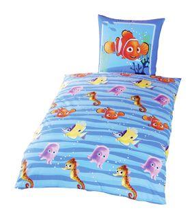 Disney Renforce Linon Kinder Bettwäsche Findet Nemo 135x200cm [1]