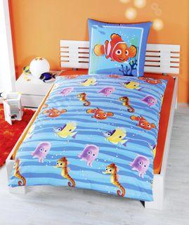 Disney Renforce Linon Kinder Bettwäsche Findet Nemo 135x200cm [2]