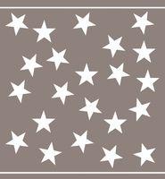 Damai 6x Handtuchset Sterne Blau / Grau / Rot / Schwarz / Taupe Star Küchentuch 6