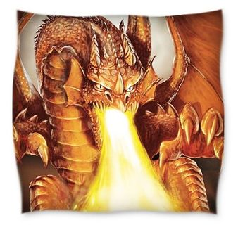 JACK Renforce Bettwäsche 135x200cm Feuer Drache Grau Terra Fire Dragon [2]