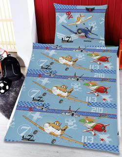 Disney Marvel Mikrofaser 2 tlg. Kinder Bettwäsche 135x200cm PLANES oder FAIRIES  [2]