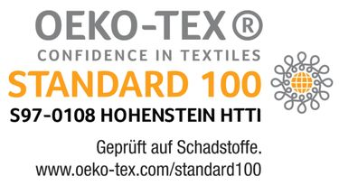 KAEPPEL MAKO SATIN 200x200cm BETTWÄSCHE HYPNOTIC CREME ORANGE GRAU [2]