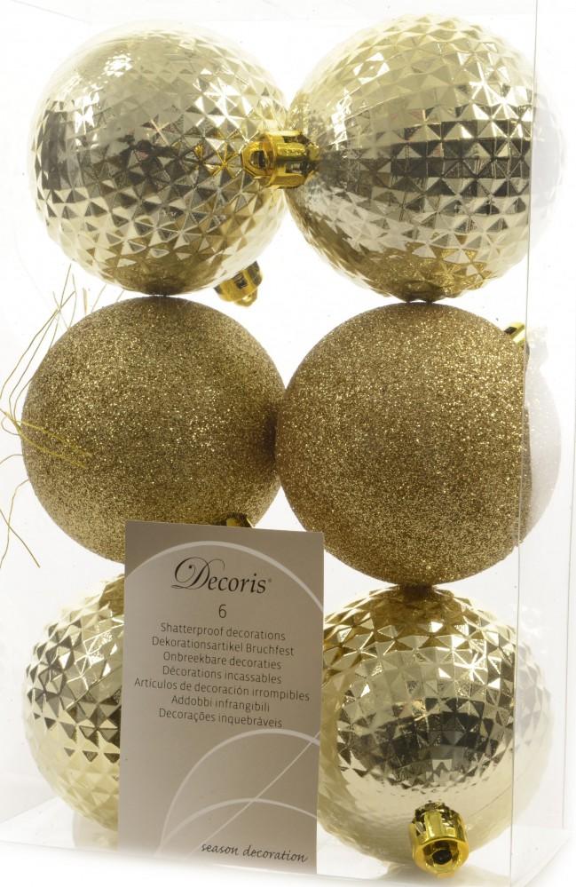 18x christbaumkugeln 7cm kunststoff wei gold blau grau kupfer glitzer rauten weihnachten. Black Bedroom Furniture Sets. Home Design Ideas
