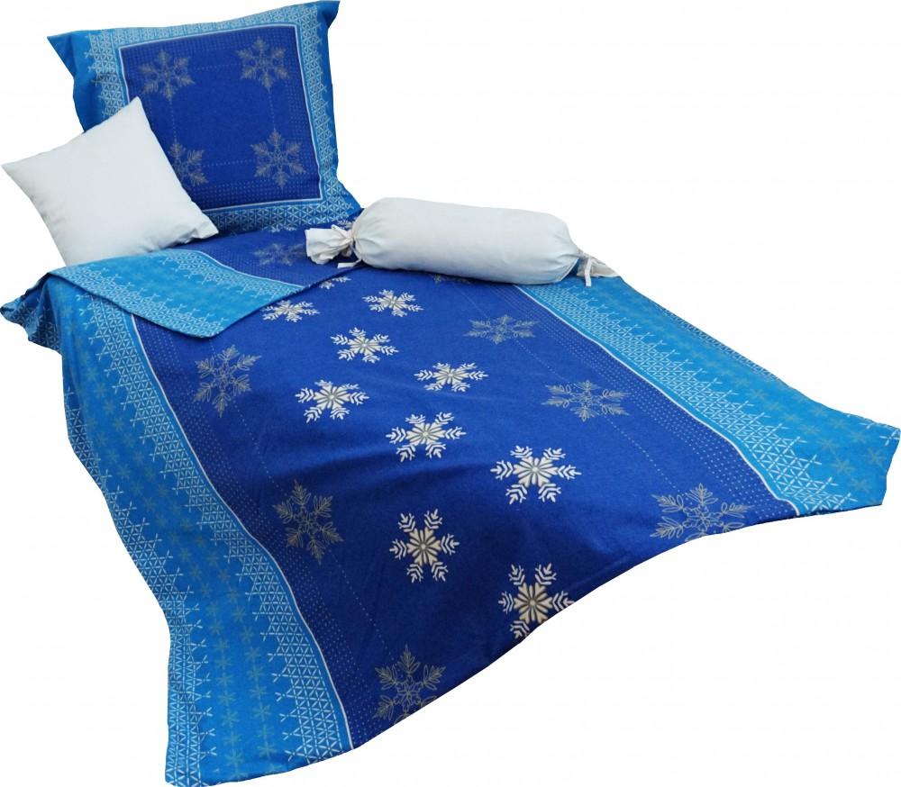 kaeppel biber bettw sche 2 tlg nordic crystal blau gold sand bettw sche bettw sche 155x220cm. Black Bedroom Furniture Sets. Home Design Ideas