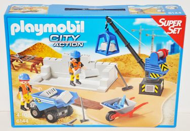 Playmobil 6144 SuperSet Baustelle City Action [1]