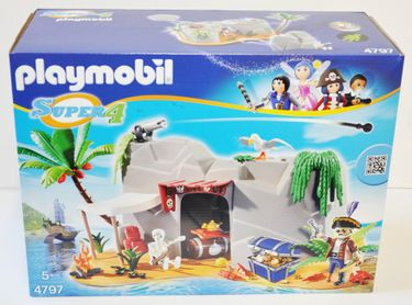 Playmobil 4797 Super 4 Piraten Höhle [1]