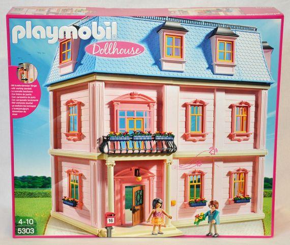 Playmobil 5303 Romantisches Puppenhaus Wohnhaus Haus