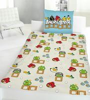 Global Labels Renforce Wende Bettwäsche Angry Birds Game 135x200cm 2