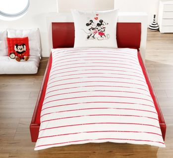 renforce bettw sche 135x200cm mickey mouse maus disney. Black Bedroom Furniture Sets. Home Design Ideas