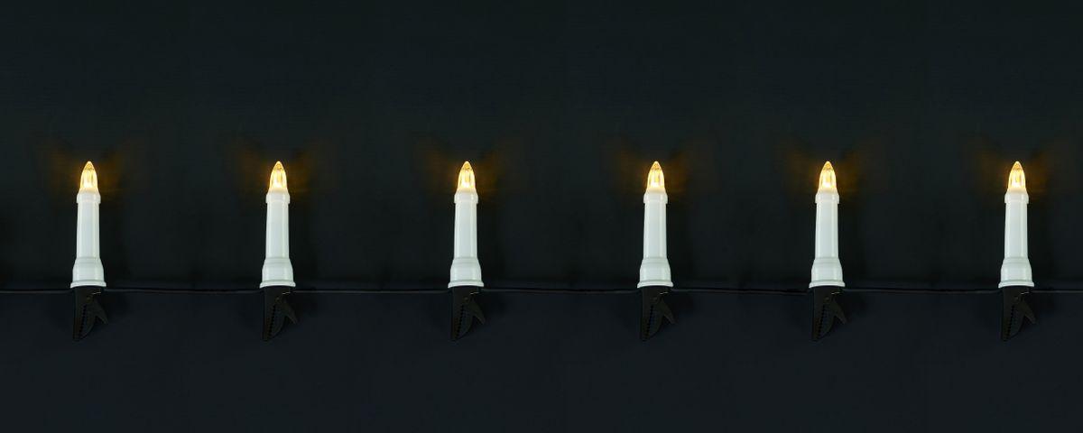 30 led kerzen 15m weihnachtsbaumbeleuchtung warmwei au en. Black Bedroom Furniture Sets. Home Design Ideas