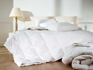 Mistral Home 4 Jahreszeiten Premium Bettdecke Perkal Hülle 100% Ägyptische Baumwolle Weiß 3 Größen [2]