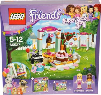 LEGO 66537 Friends Super - Set Geburtstag 3 in 1 [1]