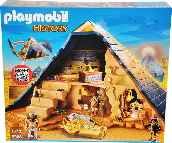 Playmobil History 5386 Pyramide des Pharao