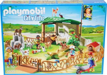 Playmobil City Life 6635 Streichelzoo [1]