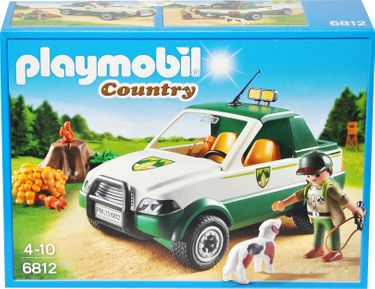 Playmobil Country 6812 Förster-Pickup Jeep [1]