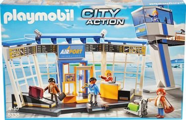 Playmobil City Action 5338 City-Flughafen mit Tower [1]