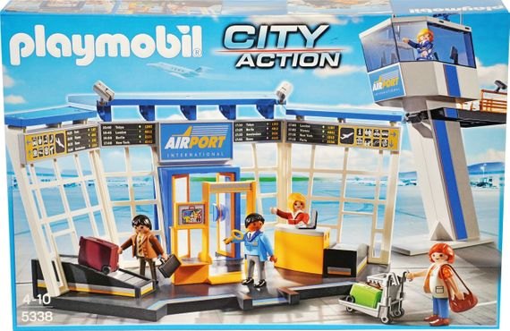 Playmobil City Action 5338 City-Flughafen mit Tower