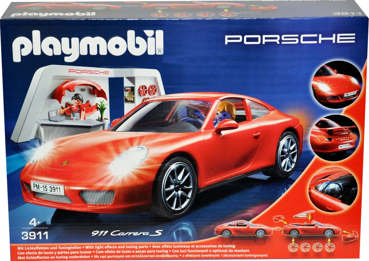 playmobil porsche 3911 auto 911 carrera s ebay. Black Bedroom Furniture Sets. Home Design Ideas