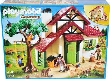 Playmobil Country 6811 Forsthaus Haus [1]