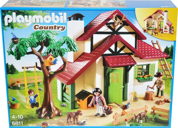 Playmobil Country 6811 Forsthaus Haus