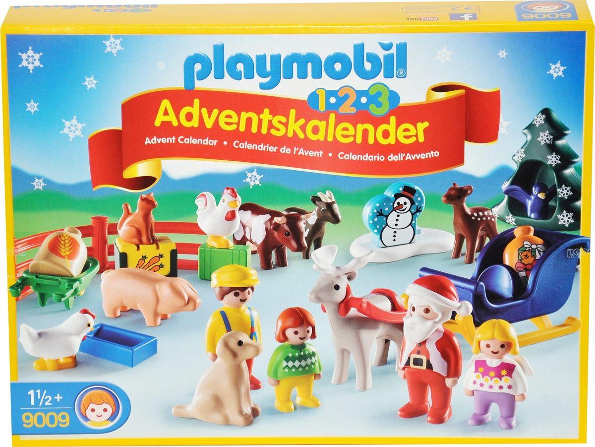 playmobil 1 2 3 adventskalender weihnachten auf dem. Black Bedroom Furniture Sets. Home Design Ideas