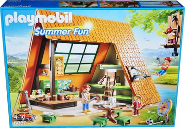 Playmobil Summer Fun 6887 Großes Feriencamp [1]