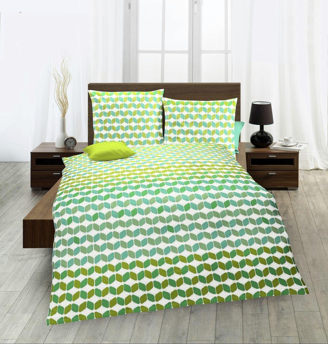 fleuresse seersucker bettw sche farbenspiel bunt gr n bettw sche bettw sche 240x220cm. Black Bedroom Furniture Sets. Home Design Ideas