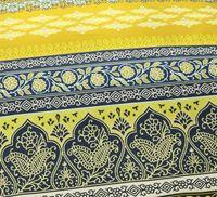 Fleuresse Mako Satin Bettwäsche 3 tlg. Ornamente Okker Braun Gold 113496/13 4