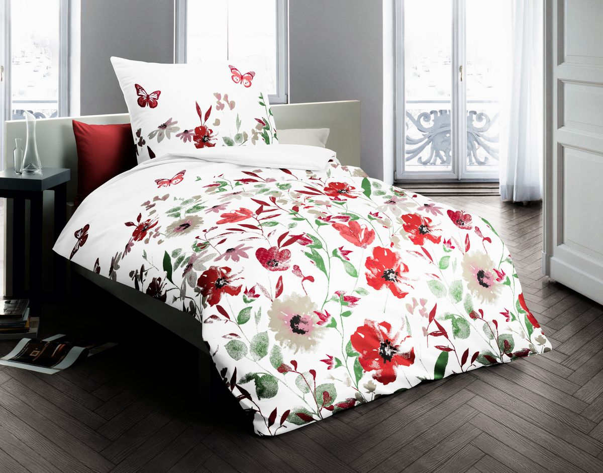 bettw sche mit blumen my blog. Black Bedroom Furniture Sets. Home Design Ideas