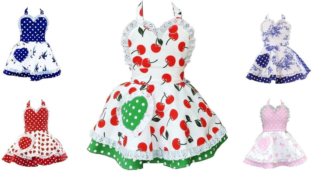 Kinderschurze Susse Kochschurze Kinder Kuchenschurze Retro Schurze Vintage Dots Jack Shop