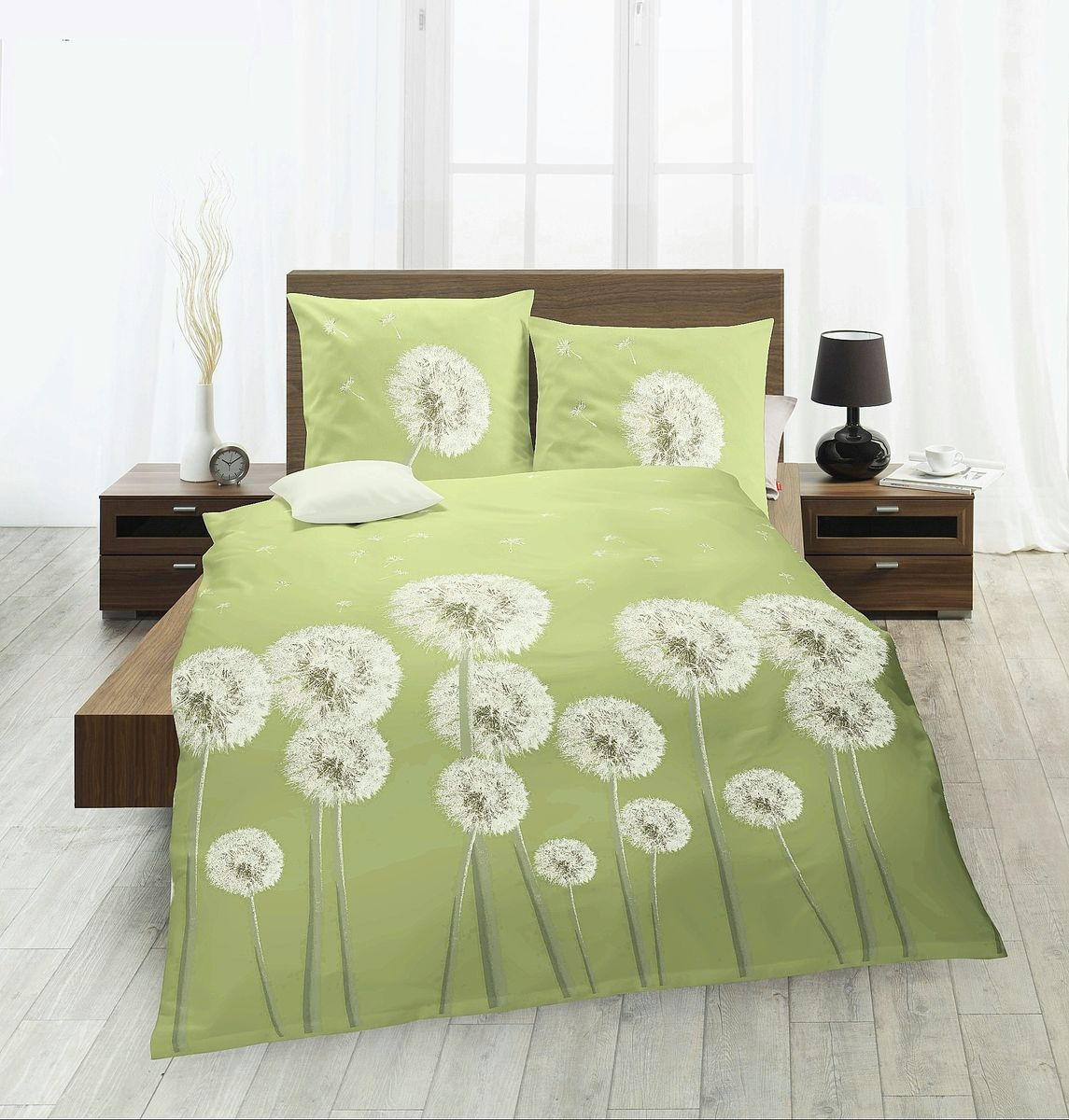 fleuresse riva renforce bettw sche 3 teilig 240x220cm pusteblume blume l wenzahn bettw sche. Black Bedroom Furniture Sets. Home Design Ideas