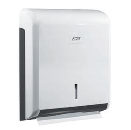 JVD Zig-Zag weißer Papierhandtuchspender 899604 aus Kunststoff