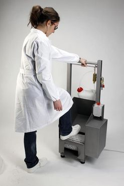 SHOE CLEANER and DISINFECTION Machine – Bild 2