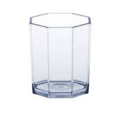 Plastic Jigger PC crystal clear 2cl /4cl SAN very robust and reusable