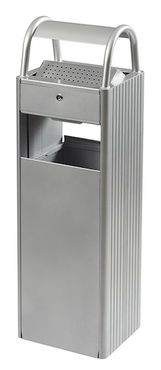 Rossignol Kopa floor mounted ashtray/bin 6L/30L with triangular key lock – Bild 1