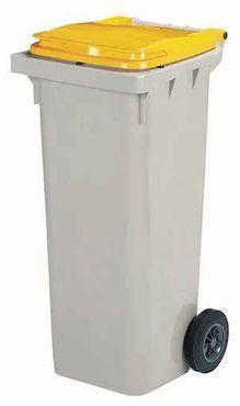 Rossignol Korok graue Mülltonne mit 2 Rädern entspricht der Norm EN-840 1 bis 6 – Bild 1