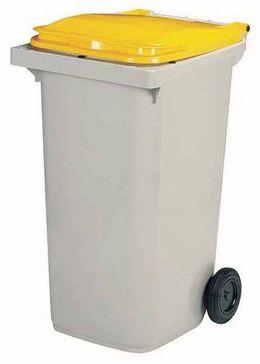 Rossignol Korok graue Mülltonne mit 2 Rädern entspricht der Norm EN-840 1 bis 6 – Bild 4