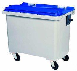 Rossignol Mülltonne ohne Schiene mit 4 Rädern entspricht der Norm EN-840 1 bis 6 – Bild 5