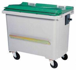 Rossignol Mülltonne mit Schiene mit 4 Rädern entspricht der Norm EN-840 1 bis 6 – Bild 6